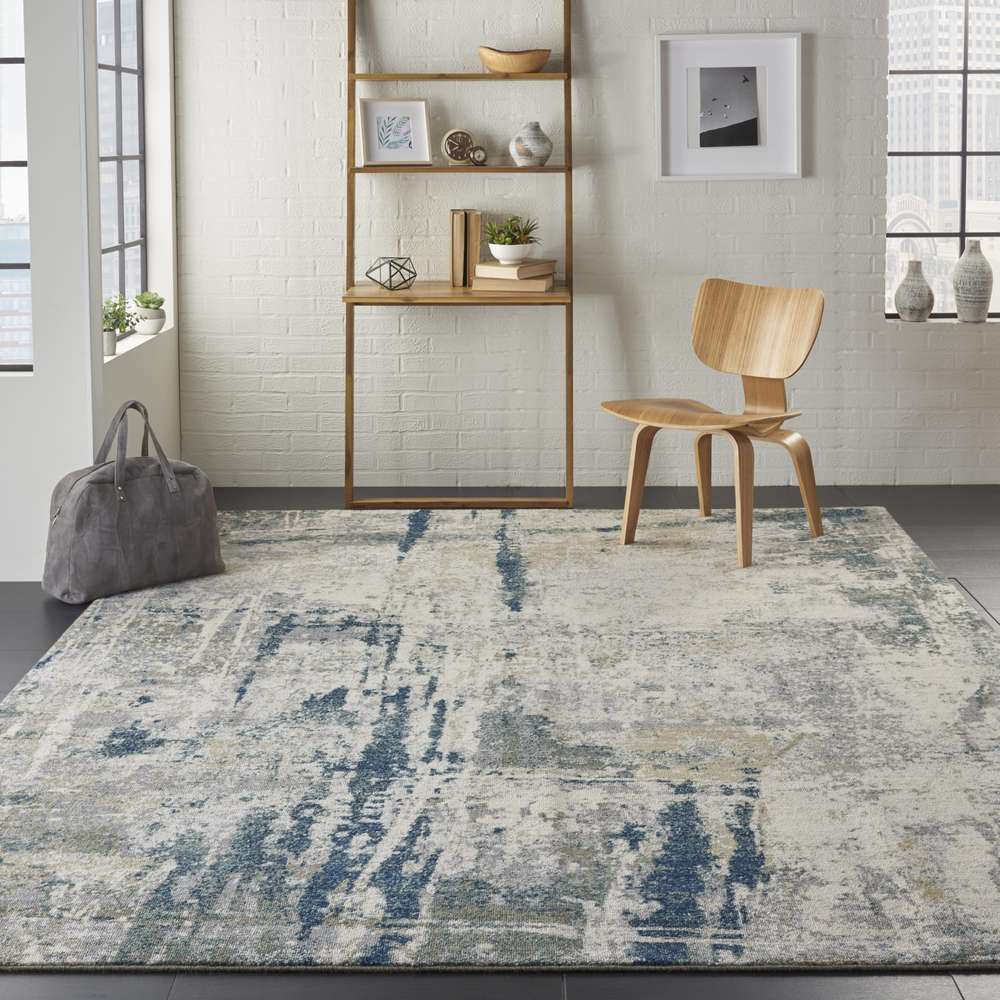 Artworks rug ATW05 Ivory/Navy